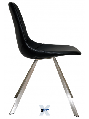 XSeat Elne Black Spark - Side View
