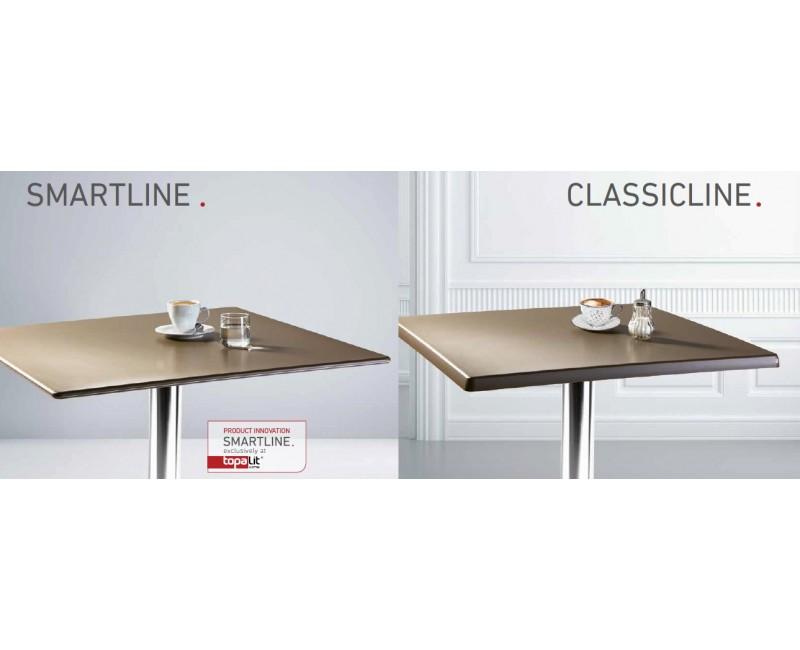 Topalit Classicline 70x70 Zwart